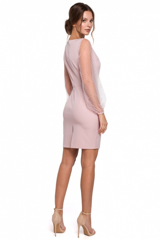 Kokteilinės suknelės modelis 138685 Makover_130062