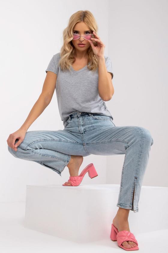 Rausvos spalvos suknelė su permatomomis rankovėmis 138685 Makover_130062