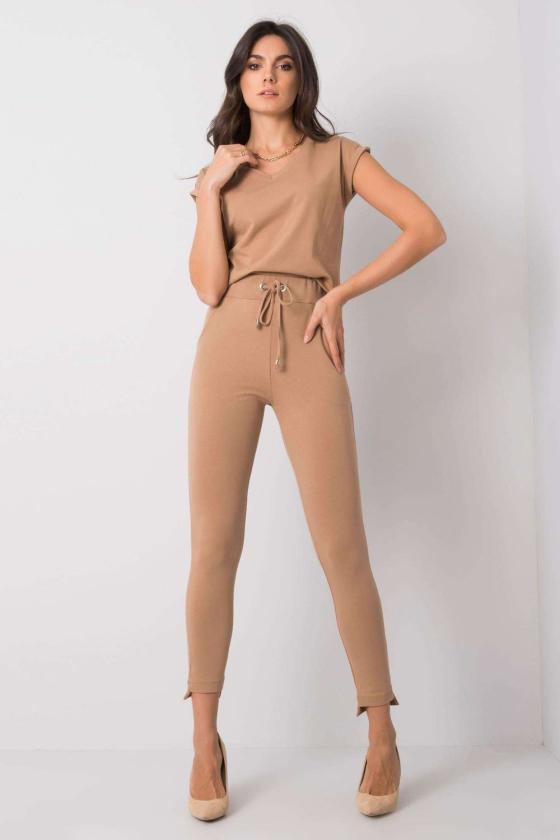 Neoninė rožinė palaidinė puošniomis rankovėmis_130400