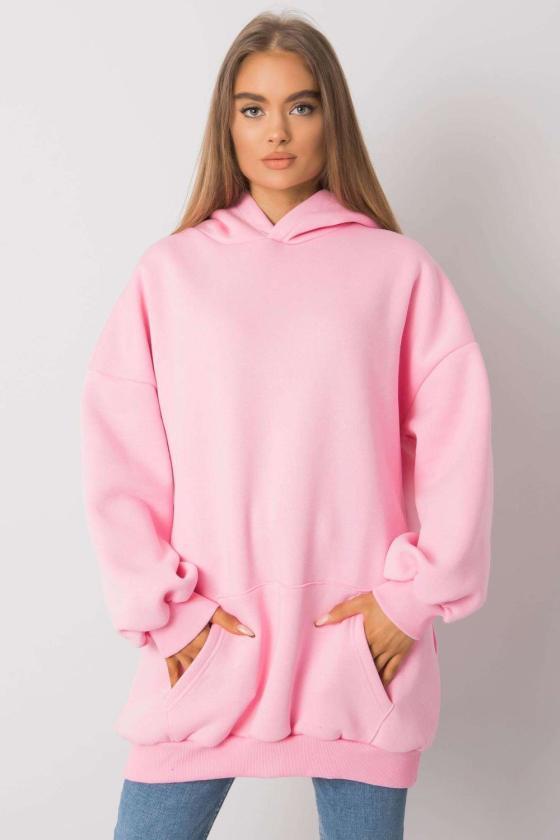 Juodos spalvos medvilninė suknelė dekoruota raukiniais_130482