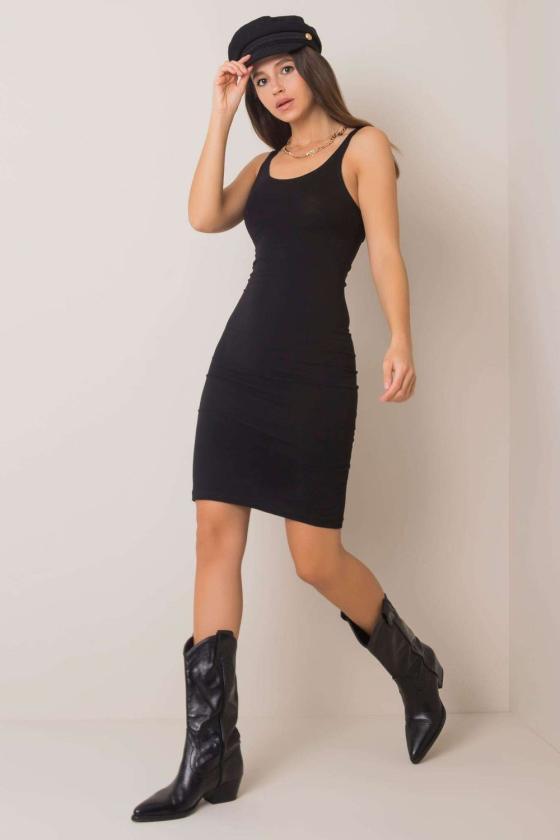 Seksuali balta asimetriško modelio suknelė_130802