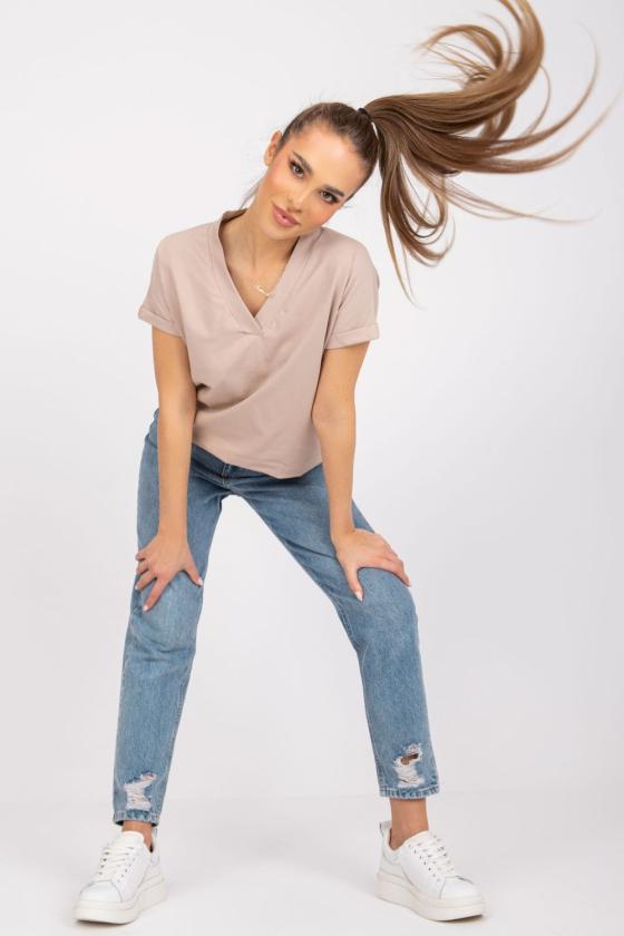 Persiko spalvos ilga romantiška suknelė atvirais pečiais_130858