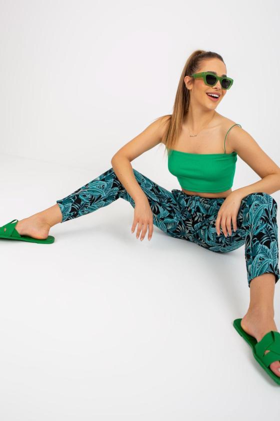 Medvilninė violetinės spalvos laisvalaikio suknelė_131297
