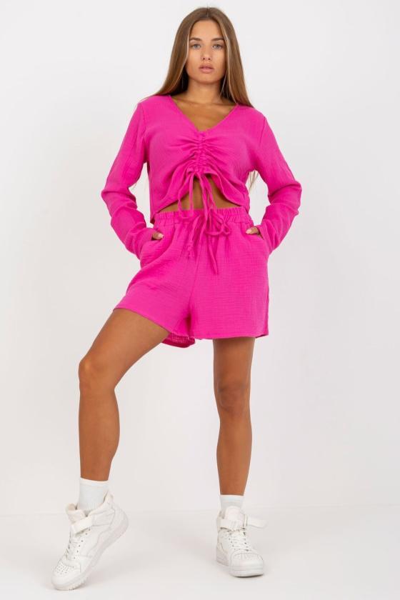 Pilkos spalvos kamufliažinė laisvalaikio suknelė_131333