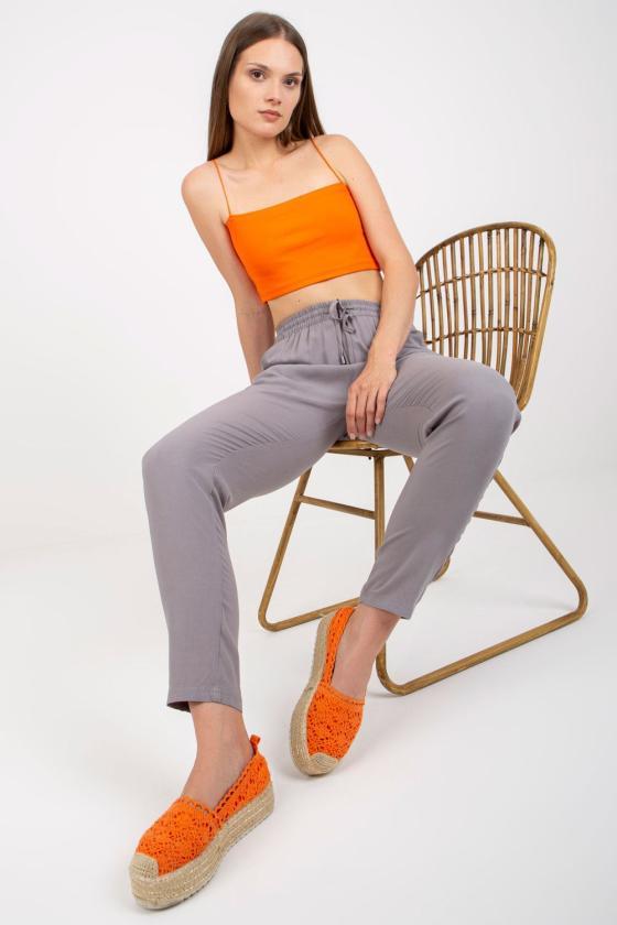 Persiko spalvos medvilninė laisvalaikio suknelė su gobtuvu_131414