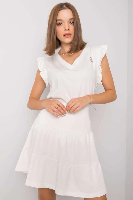 Seksuali tamsiai raudona odos imitacijos suknelė_132680