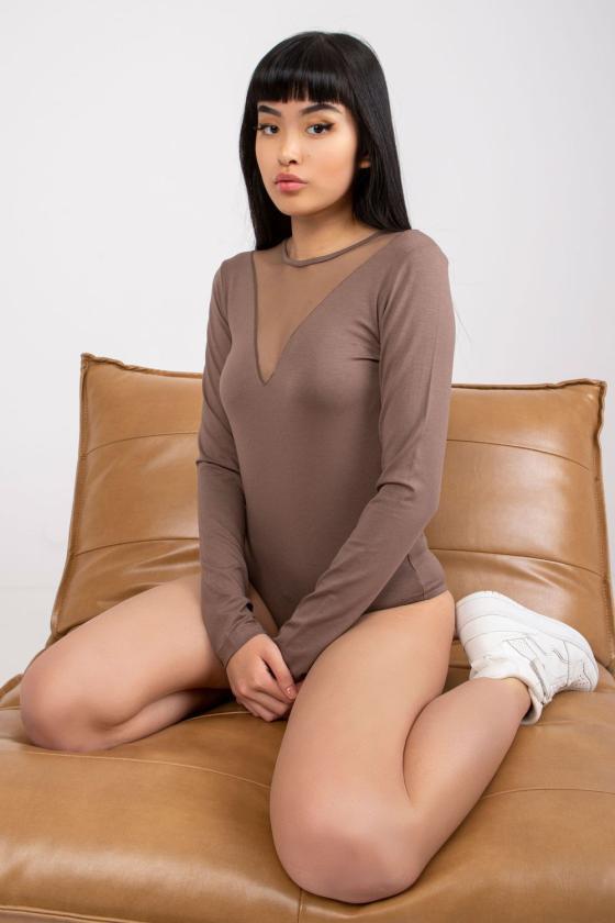 Žalios spalvos aptempta suknelė ant petnešėlių_132799
