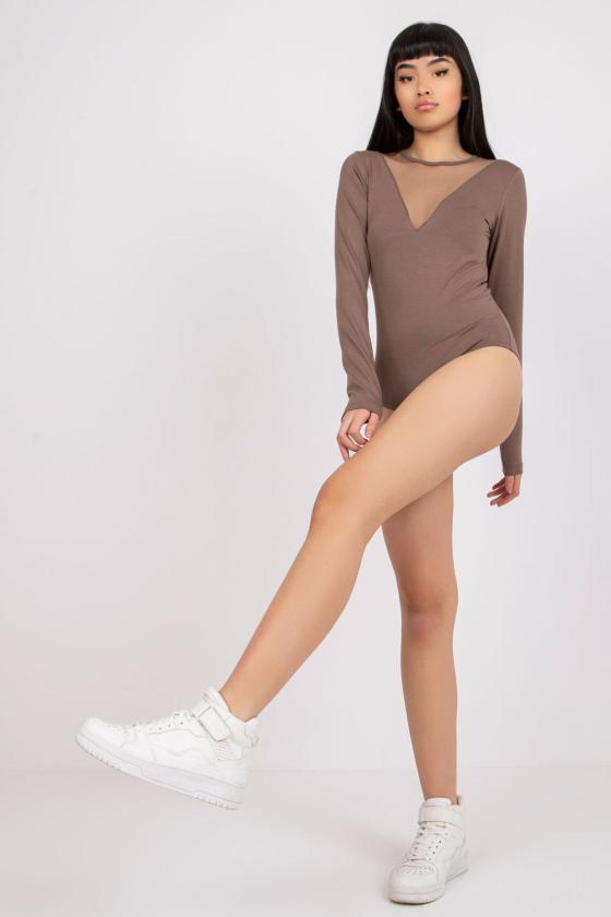 Žalios spalvos aptempta suknelė ant petnešėlių_132800