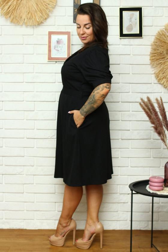 """Mėlyna oversize laisvalaikio suknelė """"Asweare"""""""