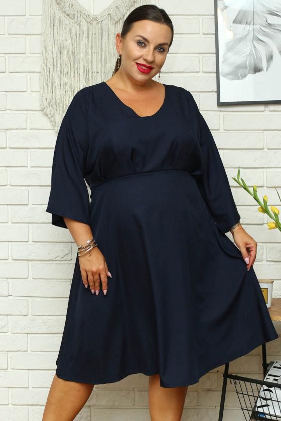 """Žalios spalvos oversize laisvalaikio suknelė """"Asweare""""_136365"""