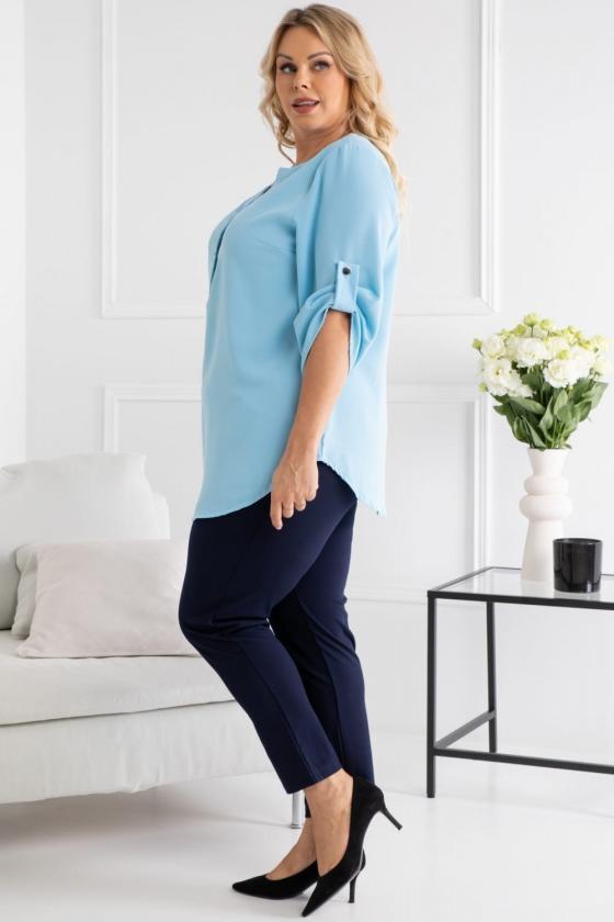 """Violetinės spalvos """"oversize"""" laisvalaikio suknelė_136376"""