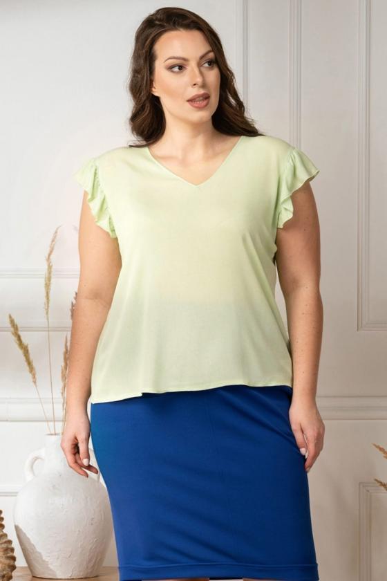"""Violetinės spalvos """"oversize"""" laisvalaikio suknelė_136377"""