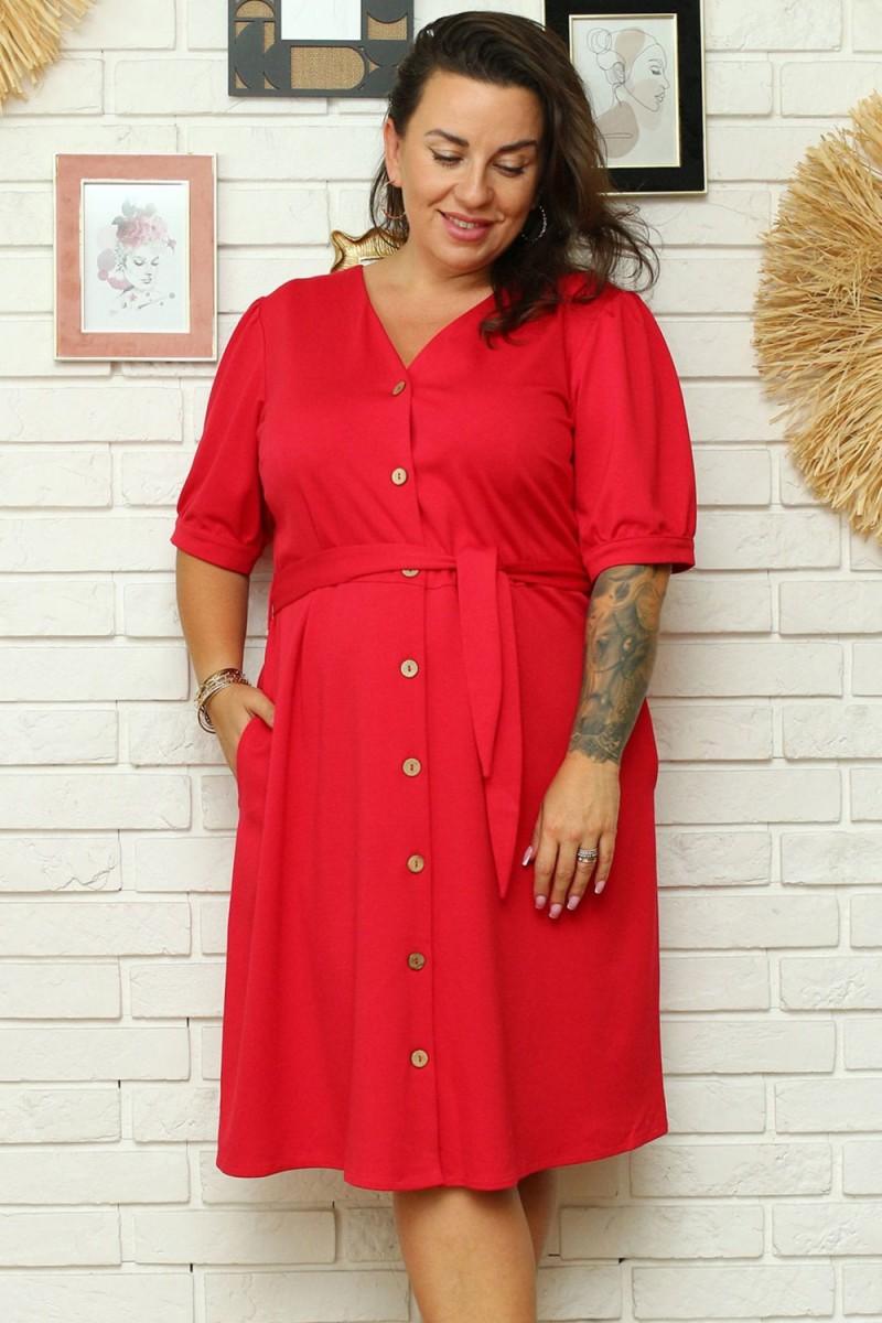 """Purvinos rožinės spalvos plisuota suknelė su dirželiu """"Lila"""""""
