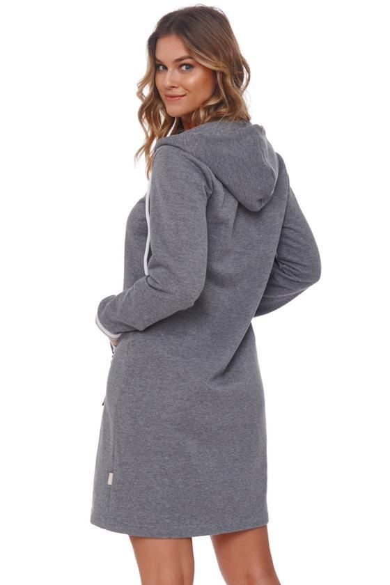 Efektinga blizgi aukso spalvos suknelė_136964