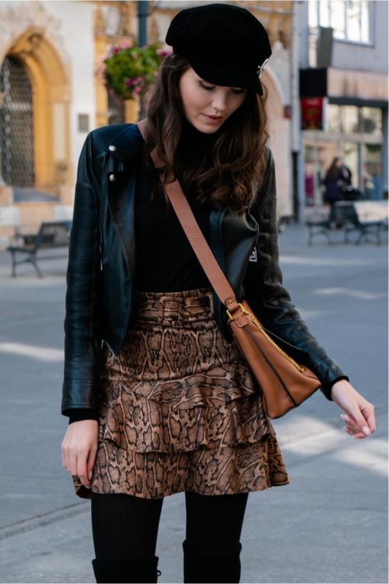 """Žydros spalvos plisuota suknelė su dirželiu """"Lila""""_137085"""