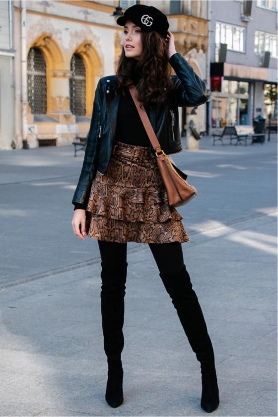"""Žydros spalvos plisuota suknelė su dirželiu """"Lila""""_137086"""