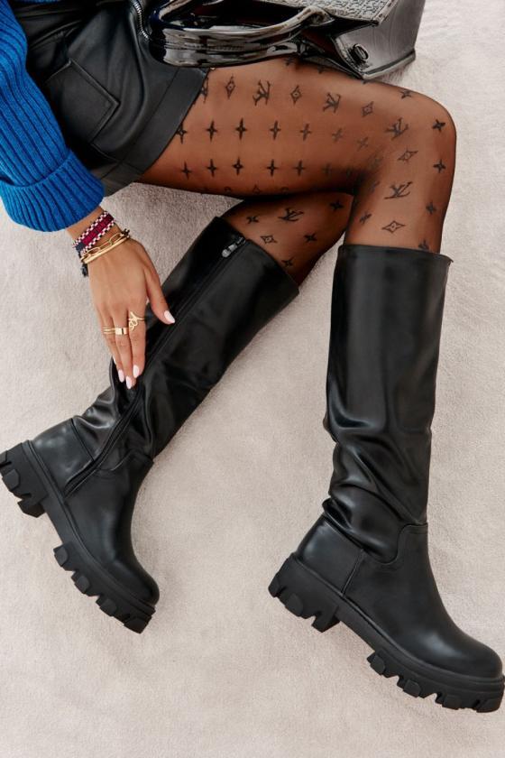 Raudonos spalvos ilgas kardiganas 2019-2_137855