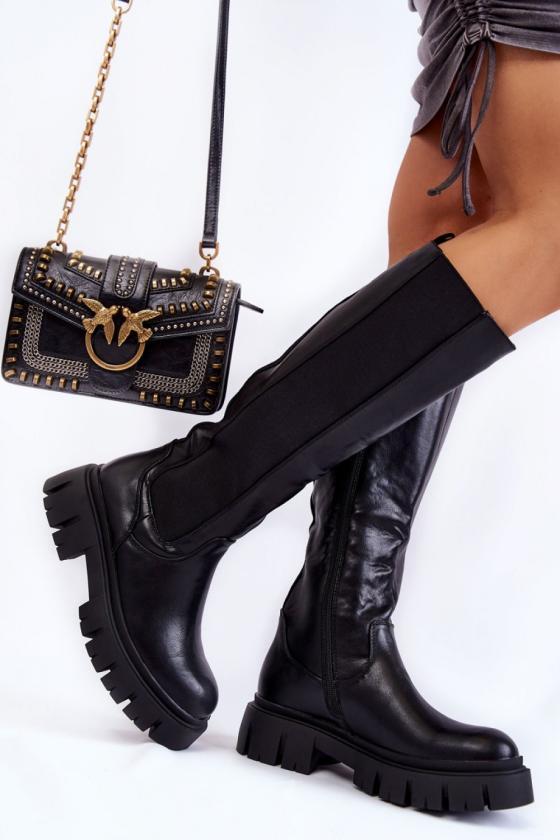 Raudonos spalvos kardiganas dekoruotas kiauraraščiu_137913