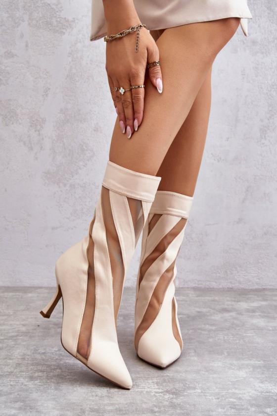 Bordinės spalvos šilta dryžuota midi suknelė_138015