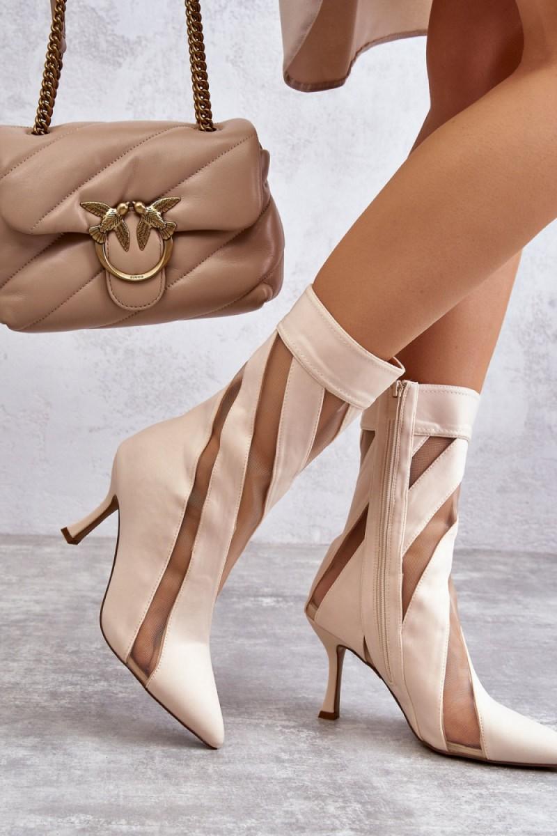 Bordinės spalvos šilta dryžuota midi suknelė_138017
