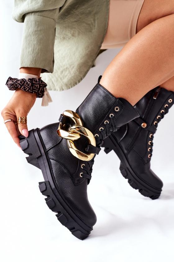 Pilkos spalvos šilta dryžuota midi suknelė_138022