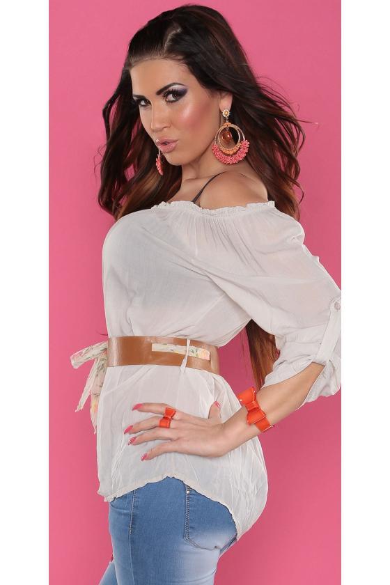 """Rausvos spalvos užsegamas megztinis """"THE WORLD IS YOURS"""""""