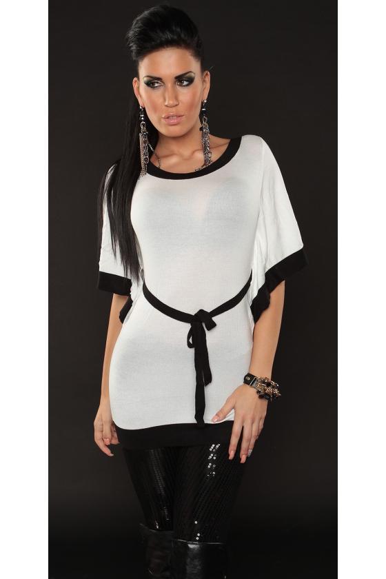 Juodos spalvos kelnės su sagomis_142473
