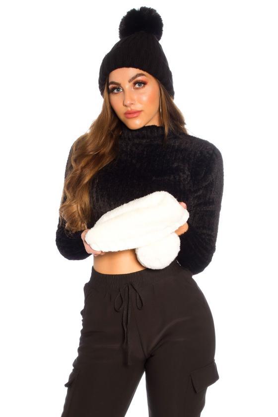 Violetinė asimetriška suknelė