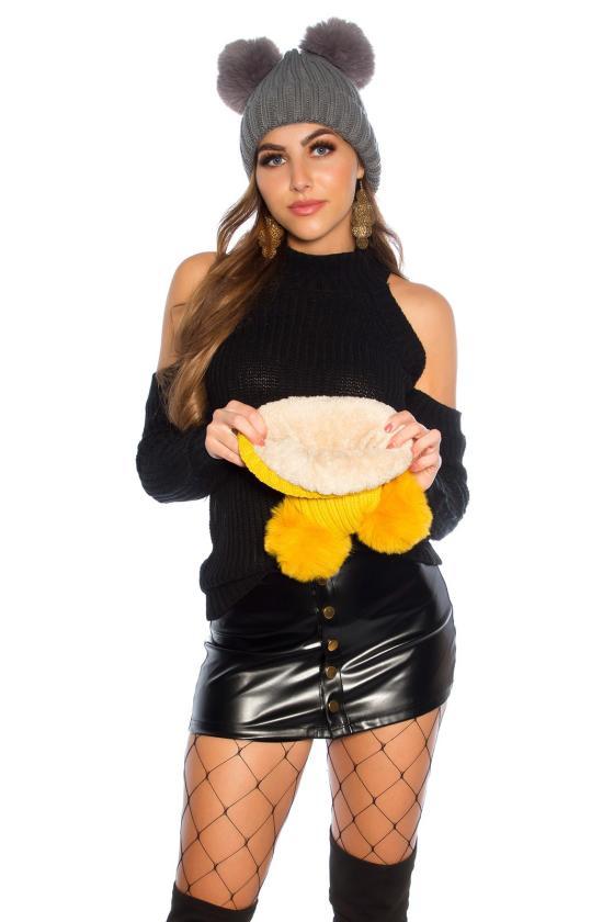 Violetinė asimetriška suknelė_142481