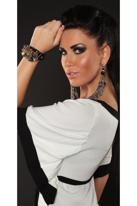Pilka asimetriška suknelė_142486