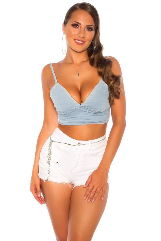 Smėlio spalvos megzta suknelė su dirželiu_142567