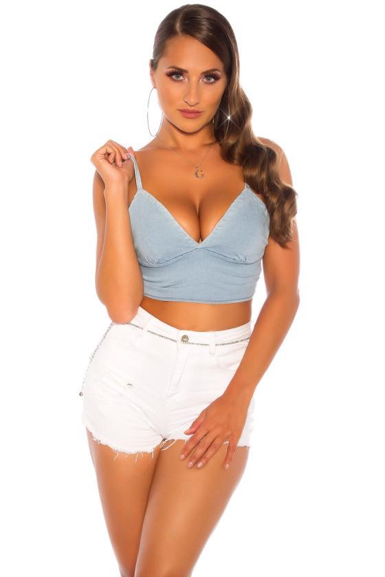 Pilkos spalvos megzta suknelė su dirželiu_142584