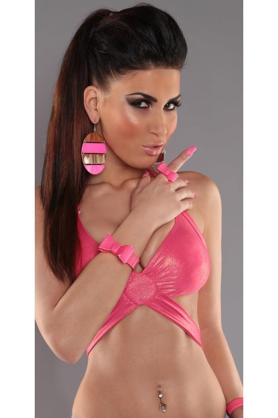 Juodas odos imitacijos kostiumas_143005