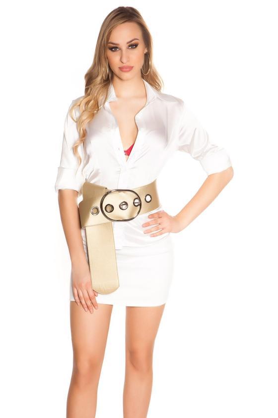Pilkos spalvos suknelė aukštu kaklu_143596
