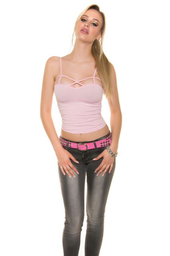 Raudonos spalvos medvilninė laisvalaikio suknelė su gobtuvu_144090