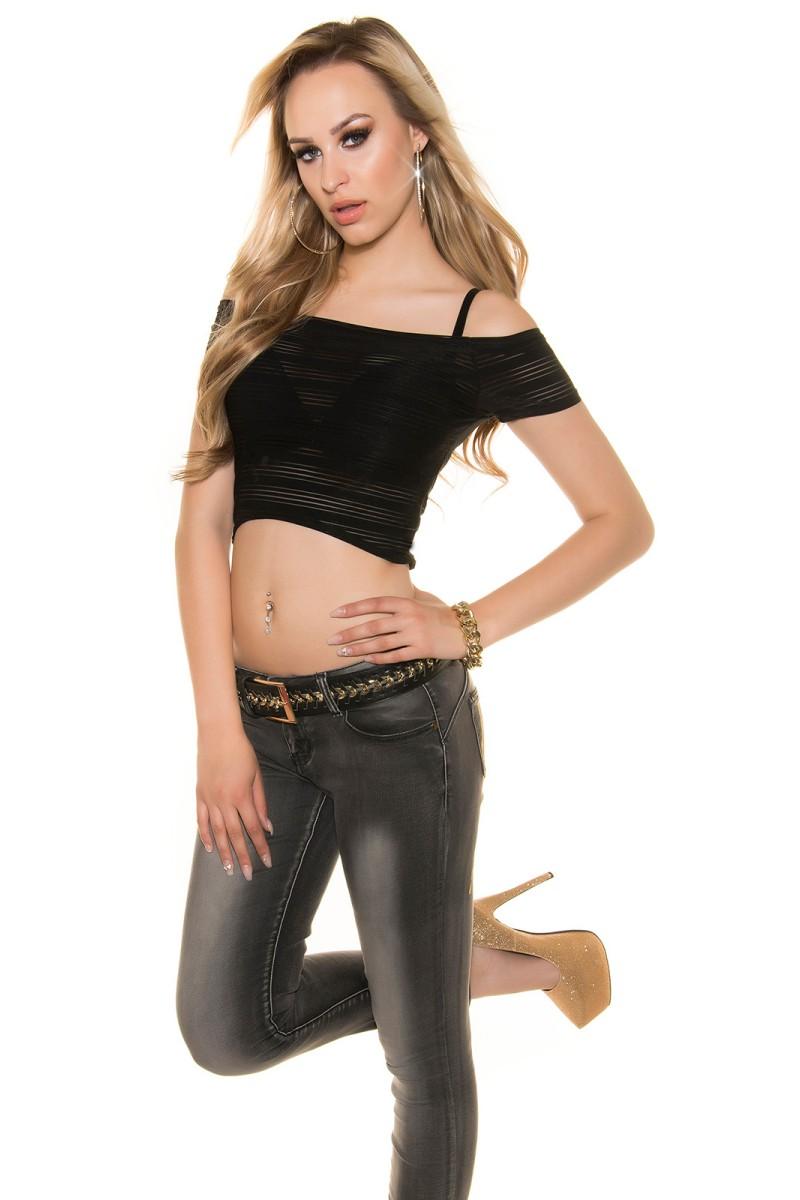 Juoda šifoninė suknelė su šilku_144167