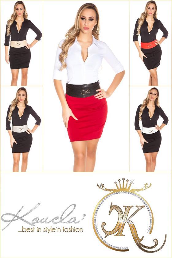 Šifoninė suknelė su šilku_144201