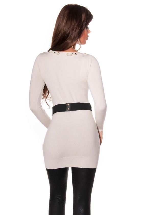 Šifoninė suknelė su šilku_144202