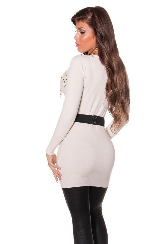 Šifoninė suknelė su šilku_144209