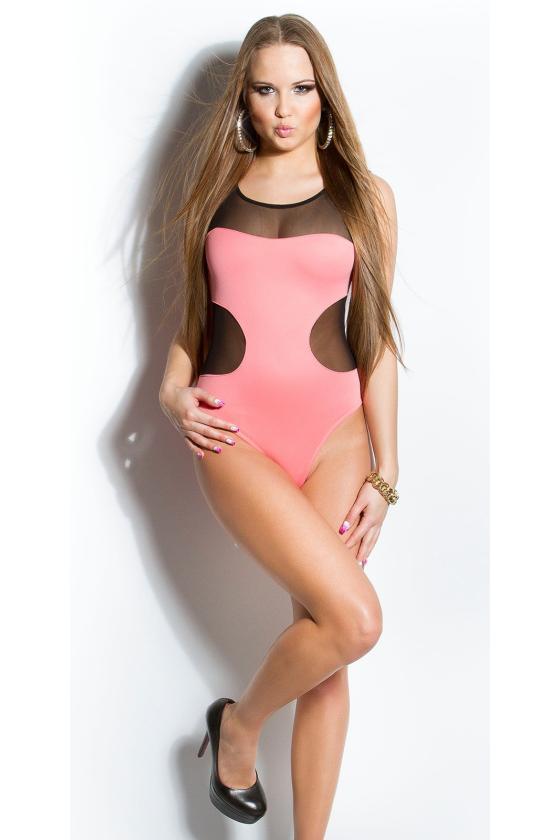 Raudonos spalvos bliuzonas praiilgintu galu_144601