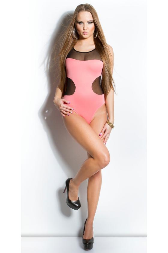 Geltonos spalvos medvilninė laisvalaikio suknelė su gobtuvu_144613