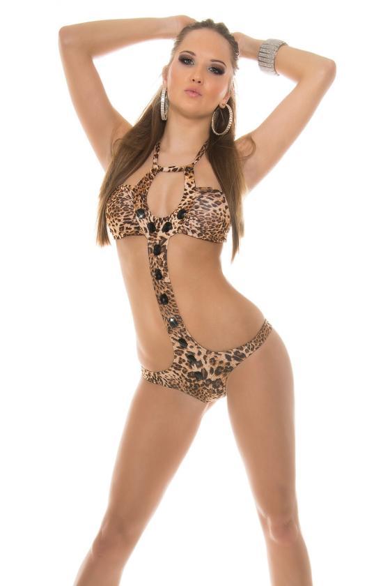 Chaki spalvos suknelė 66047