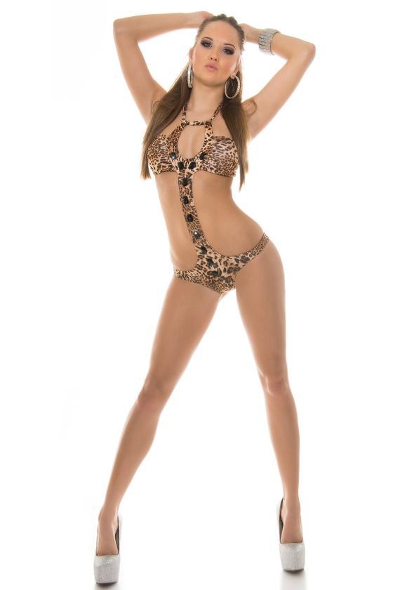 Raudonos spalvos suknelė 66047