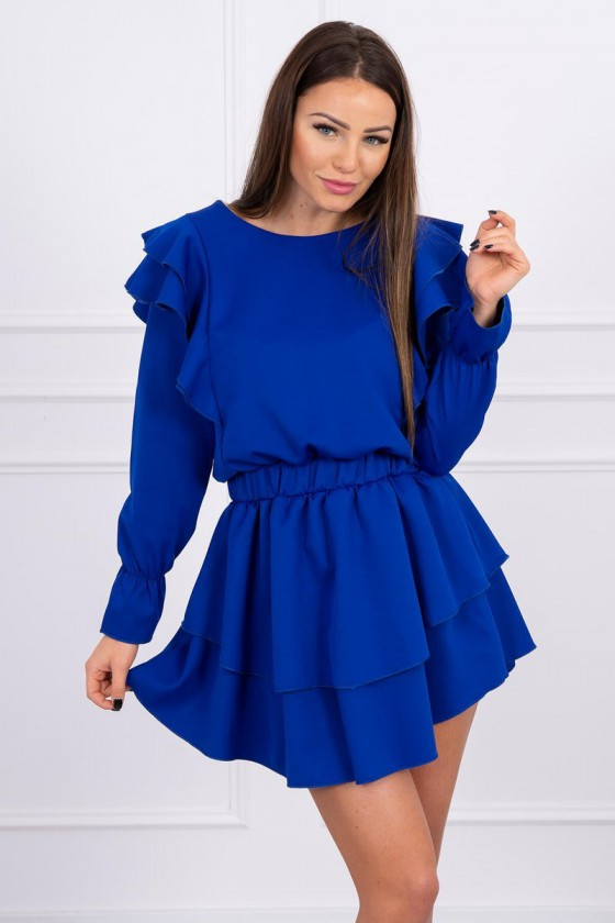 Mėlynos spalvos suknelė 66047