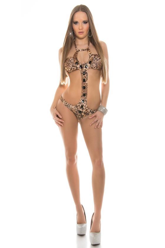Baltos spalvos suknelė 66047