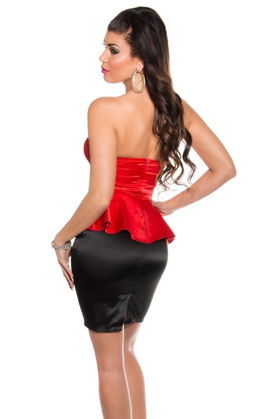 Geltonos spalvos suknelė 66047