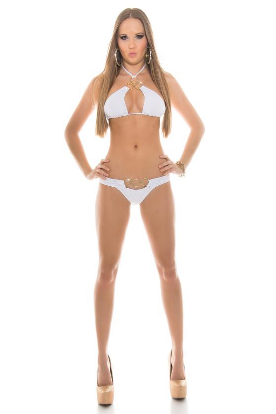 Žydros spalvos asimetriška suknelė_145331