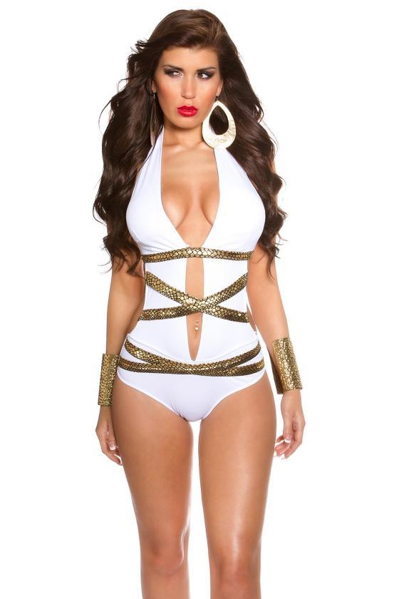 Žydros spalvos asimetriška suknelė_145333