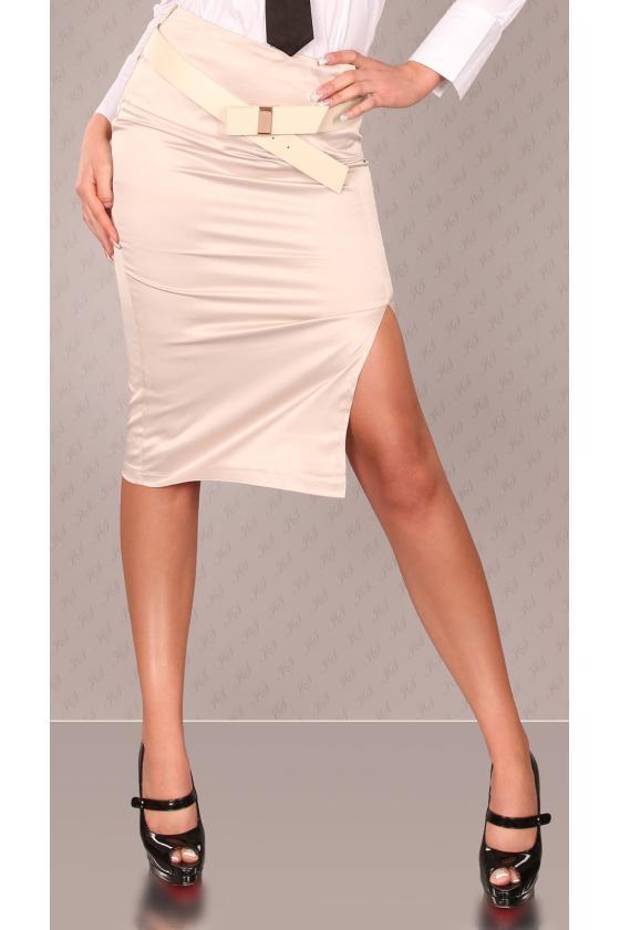 Baltos spalvos dviejų dalių kompletas kepurė+šalikas_145932