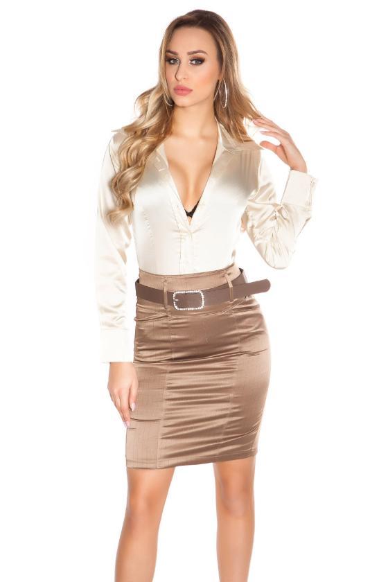 Grafito spalvos dviejų dalių kompletas kepurė+šalikas_145963